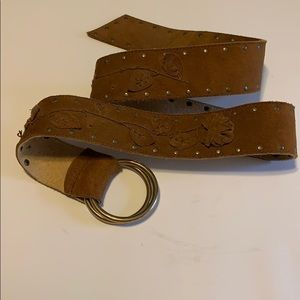 2/20 Suede belt medium